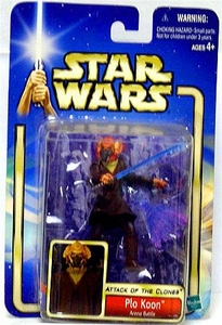 Star Wars Saga 2002 Attack of the Clones #12 Plo Koon [Arena Battle]