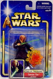 Star Wars Saga 2002 Collection 2 Attack of the Clones #20 Saesee Tiin [Jedi Master]