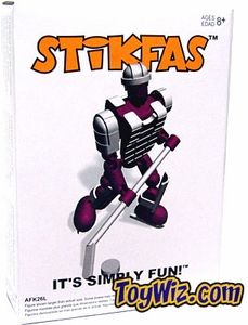 Stikfas G2 Alpha Male Lite Pack Action Figure Kit FUSCHIA Hockey Player