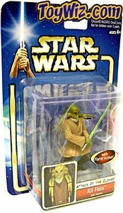 Star Wars Saga 2002 Attack of the Clones Kit Fisto