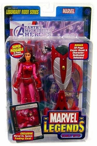 Marvel Legends Series 11 Action Figure Scarlet Witch [Legendary Riders Build-A-Figure]