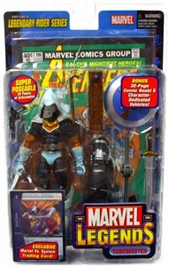 Marvel Legends Series 11 Action Figure Taskmaster [Legendary Riders Build-A-Figure]