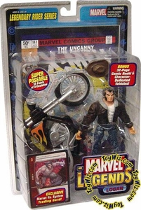 Marvel Legends Series 11 Action Figure Logan Black Jacket Variant [Legendary Riders Build-A-Figure]
