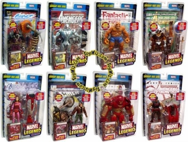 Marvel Legends Series 11 Set of 8 Action Figures [Legendary Riders Build-A-Figure]