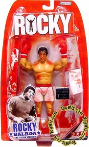 Jakks Pacific Rocky I (Series 1) Action Figure Rocky Balboa [First Fight Bloody Battle Damaged]