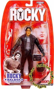 Jakks Pacific Rocky I (Series 1) Action Figure Rocky Balboa as Gazzo's Collector [Leather Jacket]