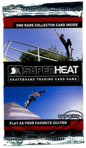 Super Heat Skateboard Trading Card Game Throwdown Booster Pack