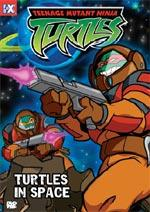 Teenage Mutant Ninja Turtles DVD 9 Turtles in Space