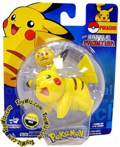Pokemon Jakks Pacific Battle Frontier Series 2 Basic Figure Pikachu Version 3 [Standing on 4 Feet, Mouth Open]