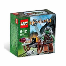 LEGO Castle Mini Figure Set #5618 Troll Warrior