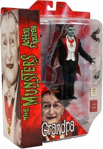 The Munsters Diamond Select 7 Inch Action Figure Grandpa Munster