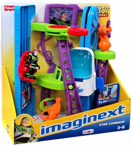 Imaginext Disney / Pixar Toy Story Exclusive Playset Star Command