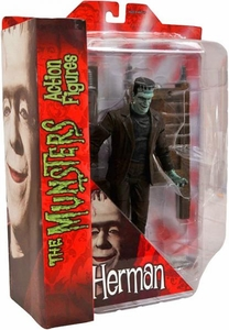 The Munsters Diamond Select 7 Inch Action Figure Herman Munster