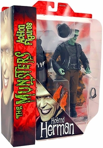 The Munsters Diamond Select 7 Inch Action Figure Hot Rod Herman