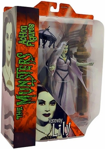 The Munsters Diamond Select 7 Inch Action Figure Hot Rod Lily