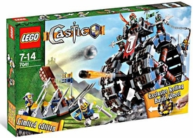LEGO Castle Exclusive Set #7041 Troll Battle Wheel