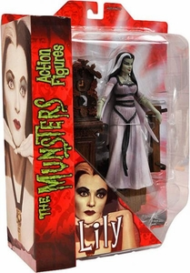 The Munsters Diamond Select 7 Inch Action Figure Lily Munster