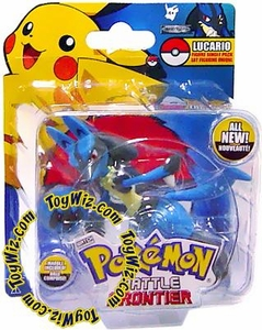 Pokemon Jakks Pacific Battle Frontier Series 1 Basic Figure Lucario