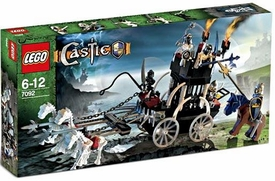 LEGO Castle Set #7092 Skeleton Prison Carriage