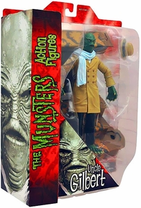 The Munsters Diamond Select 7 Inch Action Figure Exclusive Uncle Gilbert