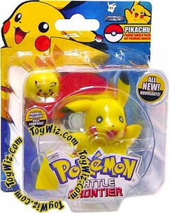 Pokemon Jakks Pacific Battle Frontier Series 1 Basic Figure Pikachu Version 1 [Sitting Down]