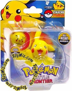 Pokemon Jakks Pacific Battle Frontier Series 1 Basic Figure Pikachu Version 2 [Standing on Both Feet, Waving]
