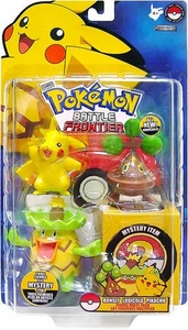 Pokemon Jakks Pacific Battle Frontier Series 1 Basic Figure 3-Pack Bonsly, Ludicolo & Pikachu