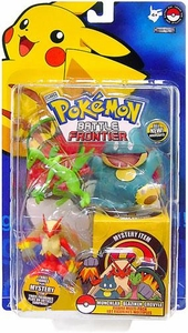 Pokemon Jakks Pacific Battle Frontier Series 1 Basic Figure 3-Pack Munchlax, Blaziken & Grovyle