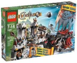 LEGO Castle Exclusive Set #7029 Skeleton Ship Attack
