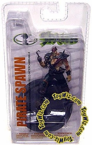 McFarlane Toys Spawn 3 Inch Series 2 Figure Pirate Spawn