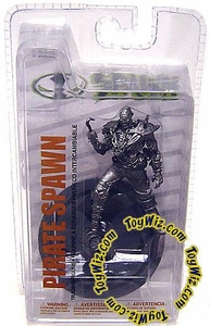 McFarlane Toys Spawn 3 Inch Series 2 Figure Pirate Spawn [Chrome Variant]