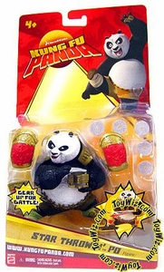 Kung Fu Panda Movie Basic 5 Inch Action Figure Star Throwin Po