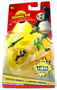 Kung Fu Panda Movie Mini Figure 2-Pack Master Monkey & Master Mantis