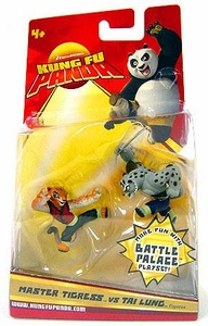 Kung Fu Panda Movie Mini Figure 2-Pack Master Tigress vs. Tai Lung