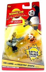 Kung Fu Panda Movie Mini Figure 2-Pack Tai Lung & Master Shifu