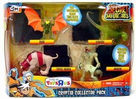The Secret Saturdays Exclusive 4 Piece Mini Figure Cryptid Collector Pack [Duah, Komodo, Tapire-Iauara & Amarok]