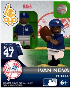 OYO Baseball MLB Generation 2 Building Brick Minifigure Ivan Nova [New York Yankees]