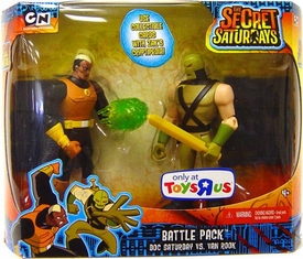 The Secret Saturdays Exclusive Action Figure 2-Pack Battle Pack Doc Saturday vs. Van Rook