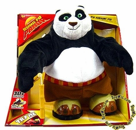 Kung Fu Panda Movie Toy Electronic Deluxe 21 Inch Action Figure Kickin' Po
