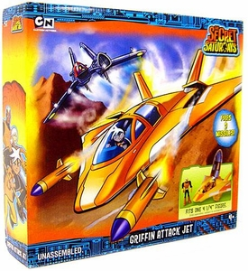 The Secret Saturdays Vehicle Playset Griffin Attack Jet