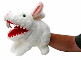 Monty Python Toy Vault Plush Rabbit with Big Pointy Teeth Puppet