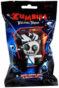 The Zumbies Walking Thread Lucky Zombie Doll Keychain Fred