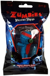The Zumbies Walking Thread Lucky Zombie Doll Keychain Norman