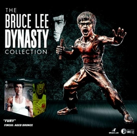 Round 5 Bruce Lee 9 Inch Dynasty Collection Action Figure Bronzed Fury Bruce Lee Only 1,000 Made!