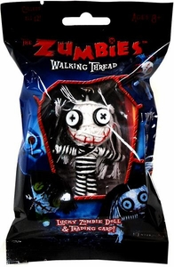 The Zumbies Walking Thread Lucky Zombie Doll Keychain Priscilla