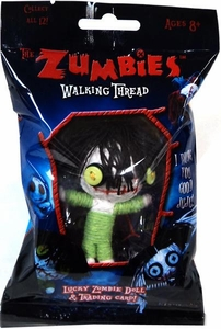 The Zumbies Walking Thread Lucky Zombie Doll Keychain Quincy