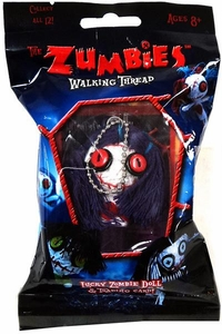 The Zumbies Walking Thread Lucky Zombie Doll Keychain Sally