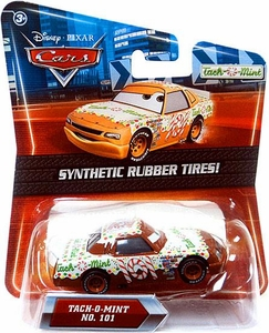 Disney / Pixar CARS Movie Exclusive 1:55 Die Cast Car with Synthetic Rubber Tires Tach-O-Mint