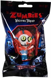 The Zumbies Walking Thread Lucky Zombie Doll Keychain Violet