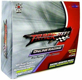Tracksters Online Car Racing Track Pack Booster Box [24 Packs]